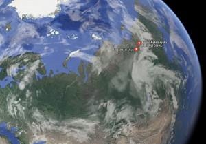 Эвено-Бытантайский и Жиганский районы Якутии