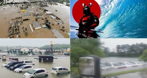 Япония уходит под воду, унося за собой города