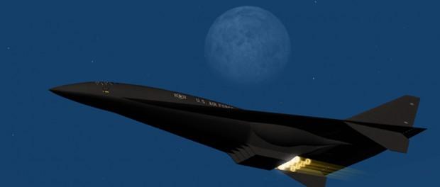 """Самолет в """"погоне за летающей тарелкой"""" в небе над штатом Орегон, США"""