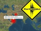 Землетрясение 6.0 в Аденском заливе