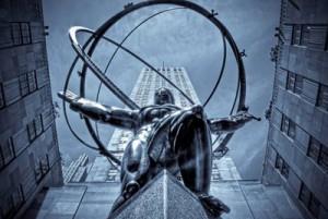 статуя Атланта в Нью Йорке