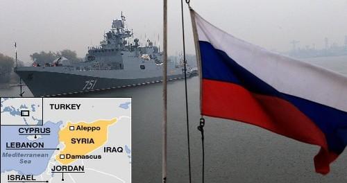 Русские закрывают небо Сирии на время саммита НАТО