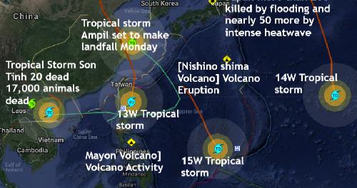 Шесть штормов напоминает фильм «Послезавтра»