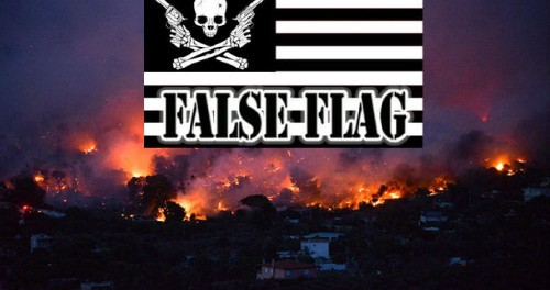 Огненный фальшлаг в Греции перед 27 июля