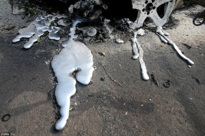 Пожары в Греции , высокая температура