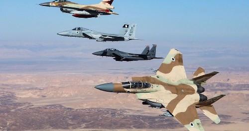 Американские и израильские ВВС курсируют над юго-западом Сирии