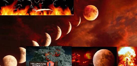 Кровавая луна начала вызывать бедствия на Земле