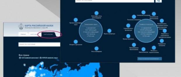 «Карта российской науки» не работает. На нее потратили 450 млн рублей