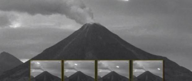 Что НЛО ищут в вулканах