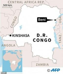 В районе Бени в Восточной провинции Киву