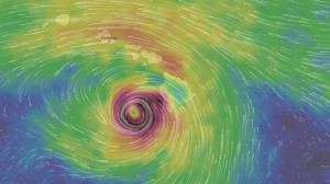 Гавайи Килауэа ураган
