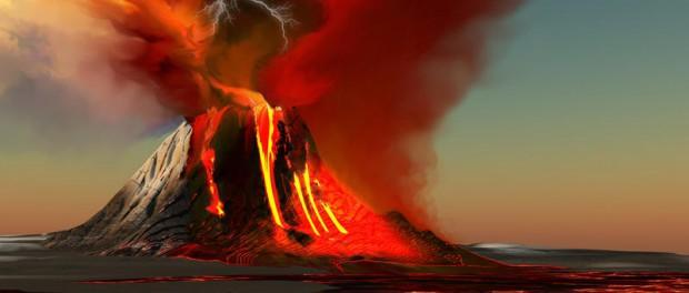Взрыв нового вулкана на Гавайях разнесет на куски остров