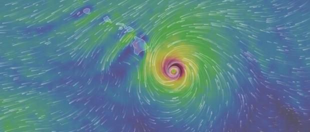 Гавайи Килауэа сейчас: жуткий ураган надвигается на вулкан