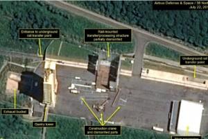 Демонтаж ядерных объктов в Северной Корее
