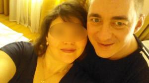 Дмитрий с женой Губаха