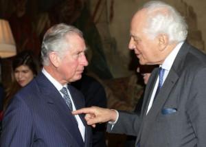 Принц Чарльз и сэр Эвелин де Ротшильд