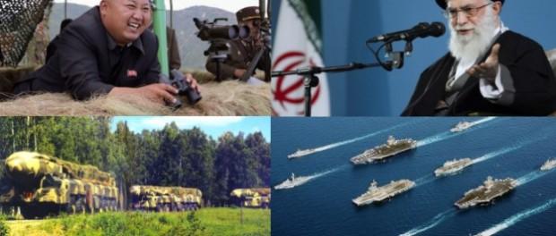 Война уже близко: Северная Корея угрожает, Иран хамит, США — молчит