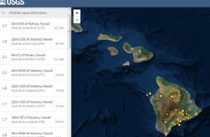 землетрясение на гавайском острове Мауи