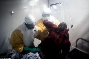 пациент болен вирусом Эболы