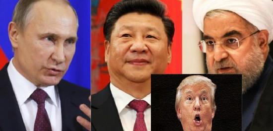 Китай и Россия чихать хотели санкции США против Ирана