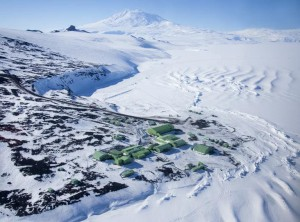 современная база Скотта в Антарктиде