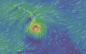 ураган Гавайи