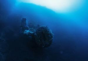 корабль пришельцев в Карибском море