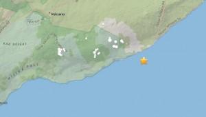 4-го мая было на юго-восточном склоне Килауэа, под водой