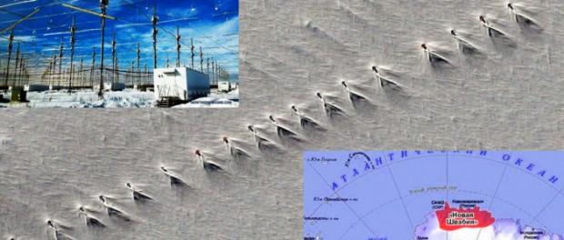 В Антарктиде найдена база, которая создает ураганы и землетрясения