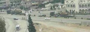 Военная техника Турции на границе с Идлибом