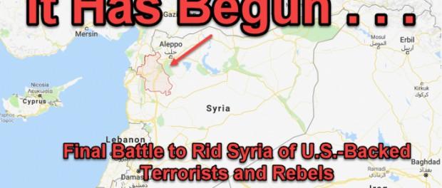 В Сирии между Россией и США началась битва за Идлиб