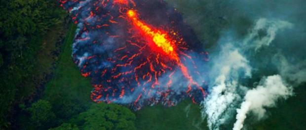 В Йеллоустоун образовалась первая трещина с магмой