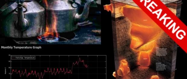 Йеллоустоун взлетит в ближайший месяц от теплового удара