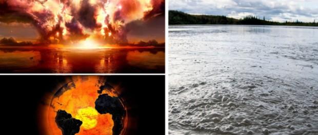 Океаны и озера Аляски и России начали гореть из-за метана