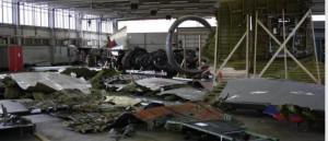 Обломки самолета ИЛ-20 в Сирии