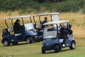 Поле для гольфа Трампа 1