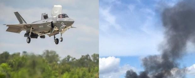 В США наконец-то страшно разбился F-35