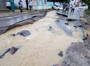 Тунис наводнение