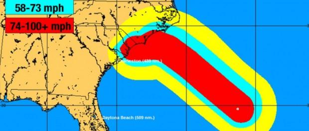 Ураган «Флоренс» видео: прямая трансляция