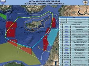 Уведомление об этом поступило всем действующим в регионе авиакомпаниям Средиземного моря