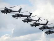 бомбежка Идлиба вертолеты
