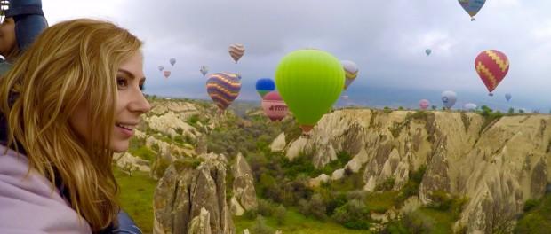 Подарите любимой полет на воздушном шаре в Москве