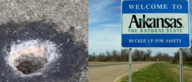 Проклятая дыра в штате Арканзас сводит с ума геологов