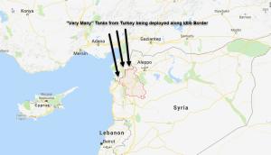 карта Идлиб военное наступление