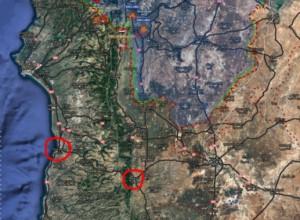 карта местности Масьяфе
