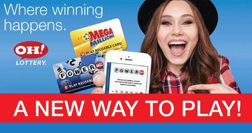 Лотерея Огайо позволяет продавать билеты через лотерейную карту