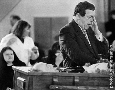 похороны криминального авторите Отари Кобзон