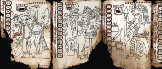 Самый старый документ Майя подвержен официально
