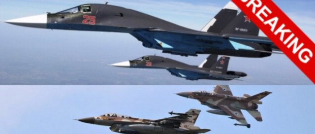 су-34 в небе над Ливаном