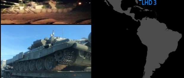 Война: США перемещают авианосцы, Россия танки